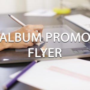Album Promo Flyer Design