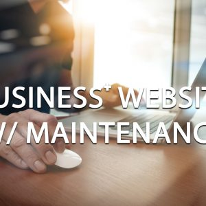 Business Plus Website Package W/ Maintenance