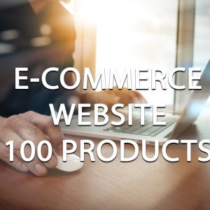 E-Commerce Website Package (100 Products)