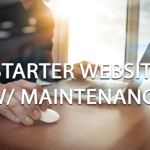 Starter Website with Maintenance