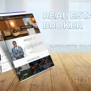 Real Estate Broker Website Package